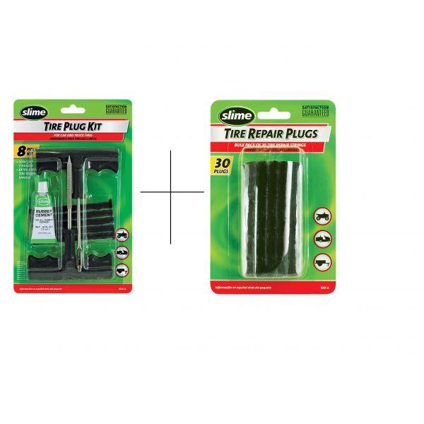 Kit Reparatie Pana Slime Kit Reparatie Pana 30 Bucati + Kit Pana Slime