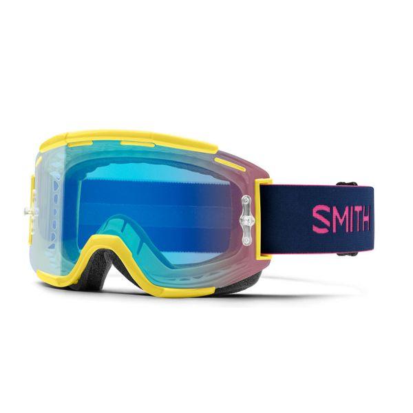 Ochelari MX-Enduro Smith Ochelari Squad MTB Citron Indigo Chromalpop Contrast Rose
