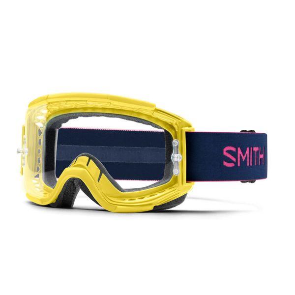 Ochelari MX-Enduro Smith Ochelari Squad MTB Citron Indigo Clear Anti Fog Lens