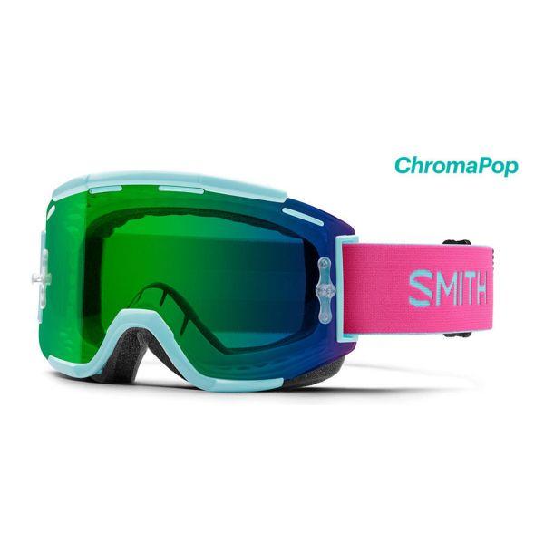 Ochelari MX-Enduro Smith Ochelari Squad MTB Iceberg Peony Chromal Pop Green Mirror