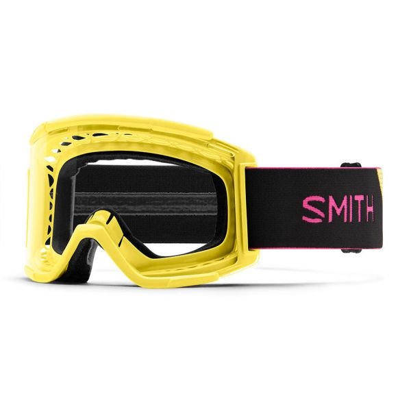 Ochelari MX-Enduro Smith Ochelari Squad MTB XL Citron Black Clear Anti Fog Lens
