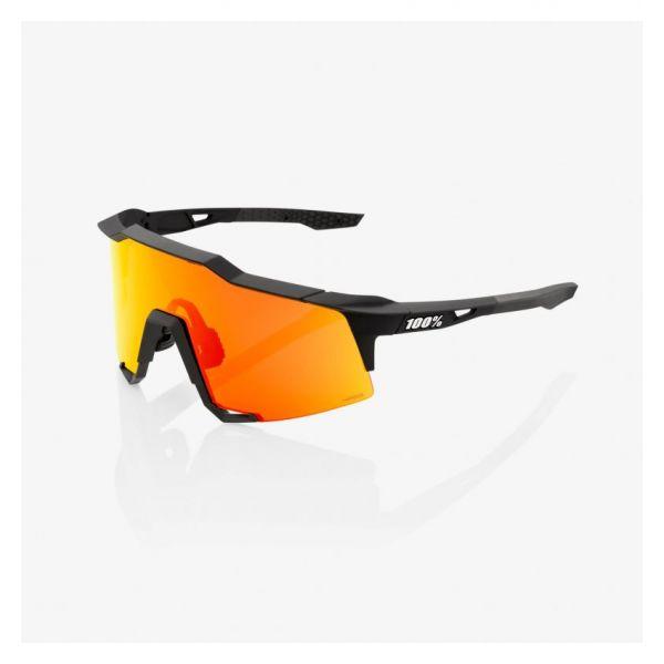 Ochelari de Soare 100 la suta Ochelari Soare Speedcraft Soft Tact Black Hiper Red Multilayer Mirror Lens 2021