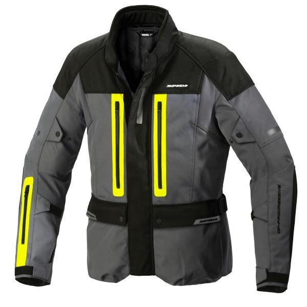 Geci Moto Textil Spidi Geaca Moto Textila Traveler 3 H2Out Yellow Fluo 2021