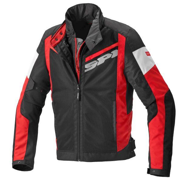 Geci Moto Textil Spidi Geaca Moto Textila Breezy Net WP H2OUT Red 2021
