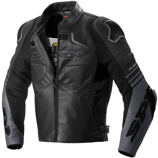 Geci Piele Spidi Geaca Piele Bolide Leather Black 2020