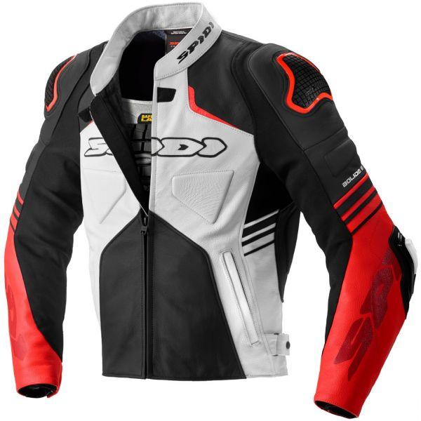 Geci Piele Spidi Geaca Piele Bolide Leather Black/Red 2020