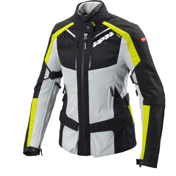 Geci Moto Textil - Dama Spidi Geaca Moto Textila Dama H2Out 4Season Yellow Fluo 2020