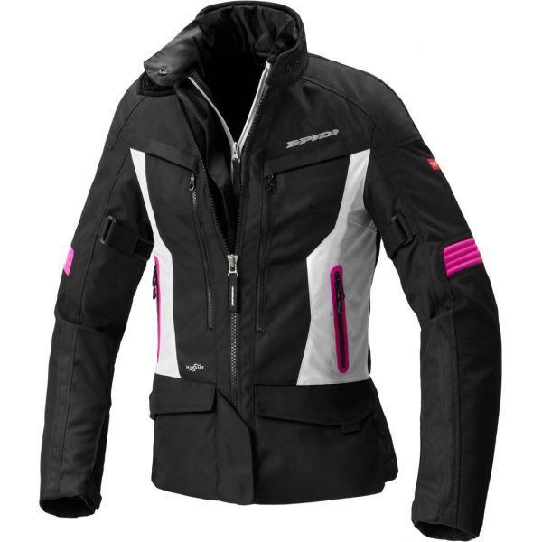 Geci Moto Textil - Dama Spidi Geaca Moto Textila Dama Voyager 4 H2OUT Black/Fuchsia 2021