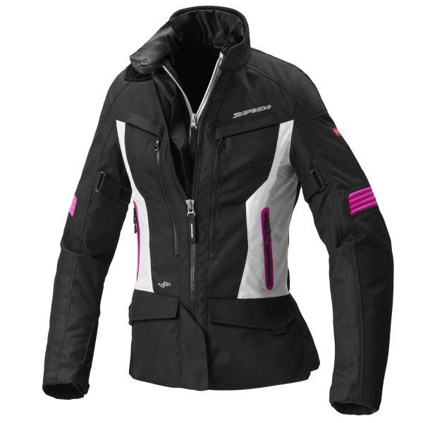Geci Textil - Dama Spidi LICHIDARE STOC Geaca Textila Dama Voyager 4 WP H2Out Black/Pink