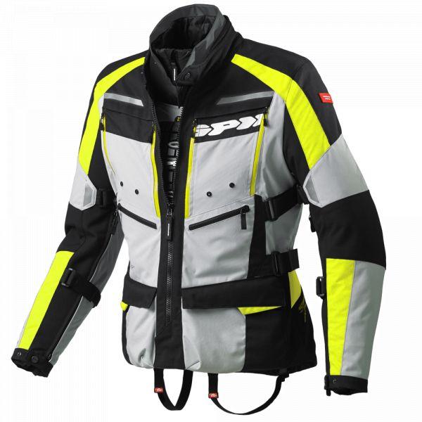 Geci Textil Spidi Geaca Textila H2Out 4Season Yellow Fluo 2020