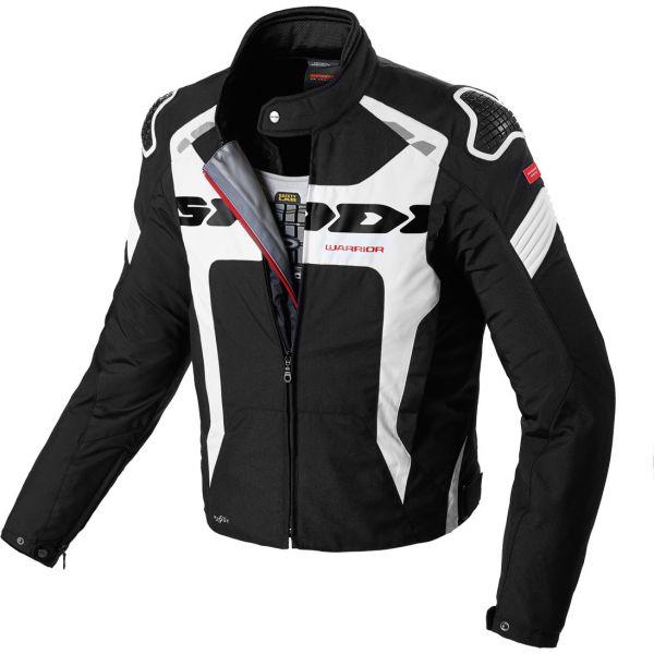 Geci Moto Textil Spidi Geaca Moto Textila Sport Warrior Evo H2OUT Black/White 2021
