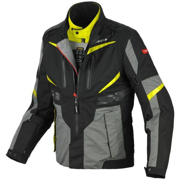 Geci Textil Spidi Geaca Textila H2Out X Tour H2Out Jacket Black/Yellow 2020