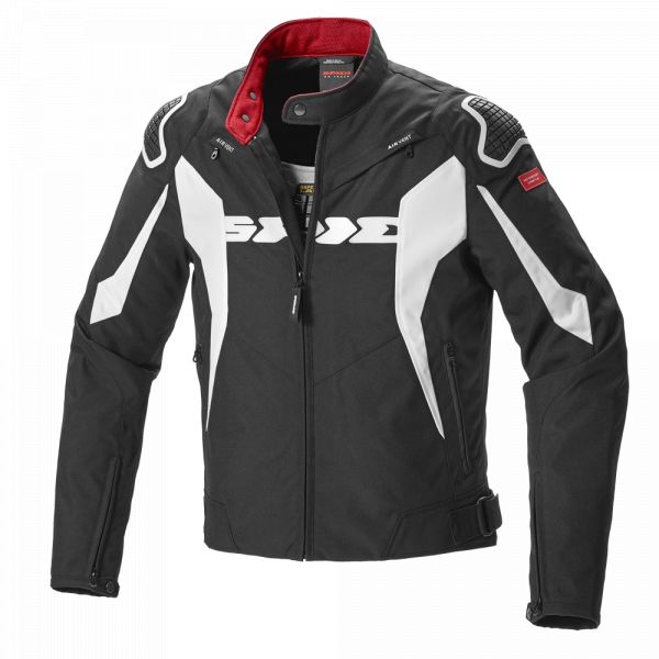 Geci Textil Spidi Geaca Textila Sport Warrior Tex Black/White 2020