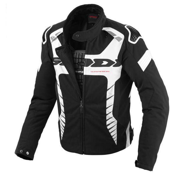 Geci Textil Spidi LICHIDARE STOC Geaca Textila Impermeabila Warrior Black/White