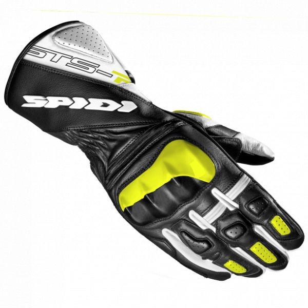 Manusi Dama Spidi Manusi Piele Dama Sts R2 Black/Fluorescente Yellow