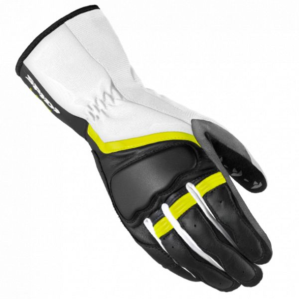 Manusi Dama Spidi Manusi Piele/Textile Dama Grip 2 Leather Black/Fluorescente Yellow