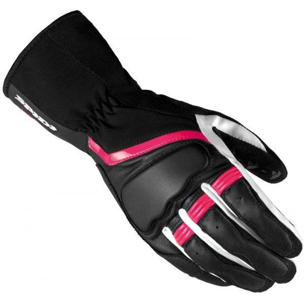 Manusi Dama Spidi Manusi Piele/Textile Dama Grip 2 Leather Black/Fuchsia