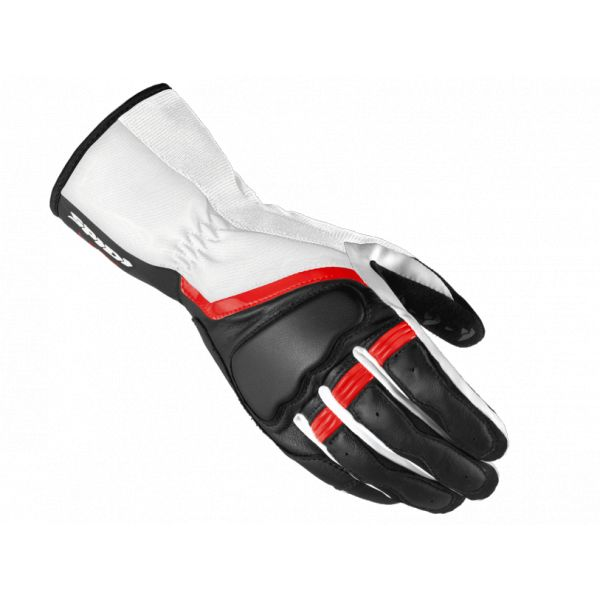 Manusi Dama Spidi Manusi Piele/Textile Dama Grip 2 Leather Black/Red