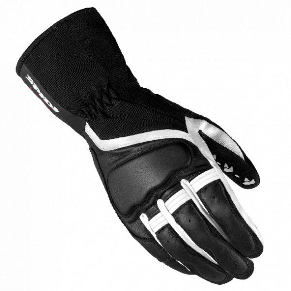 Manusi Dama Spidi Manusi Piele/Textile Dama Grip 2 Leather Black/White