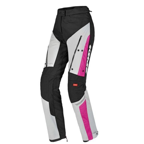 Pantaloni Moto Textil - Dama Spidi Pantaloni Textili Dama H2Out 4Season Black/Fuchsia 2020