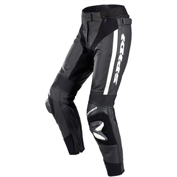 Pantaloni Moto Piele - Dama Spidi Pantaloni Piele Dama Rr Pro 2 Lady Black/White 2020