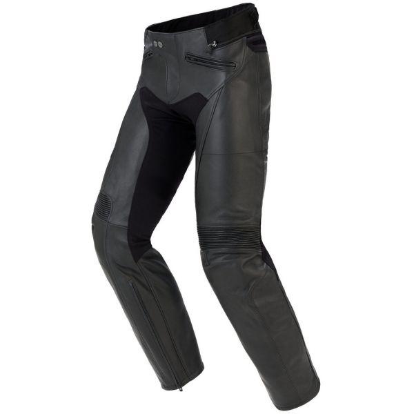Pantaloni Moto Piele Spidi Pantaloni Piele Rr Naked Black 2020