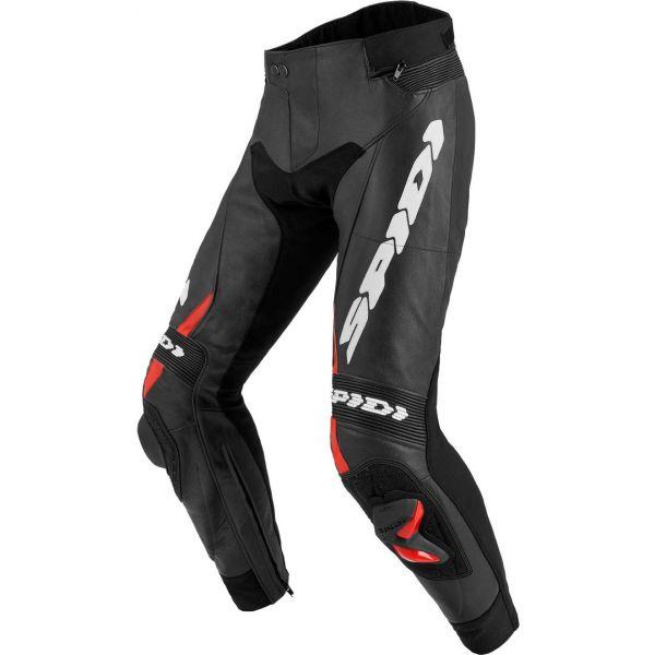 Pantaloni Moto Piele Spidi Pantaloni Piele Rr Pro 2 Black/Red 2020
