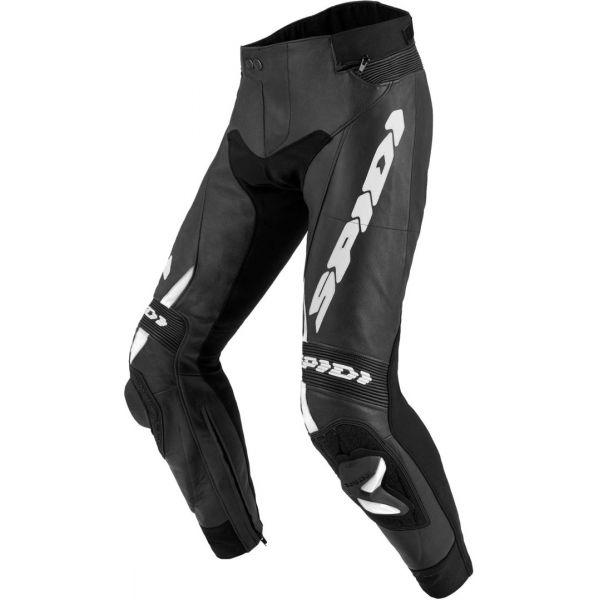 Pantaloni Moto Piele Spidi Pantaloni Piele Rr Pro 2 Black/White 2020