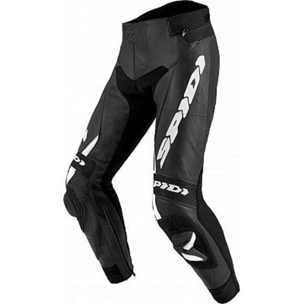Pantaloni Moto Piele Spidi Pantaloni Piele Rr Pro 2 Wind Black/White 2020