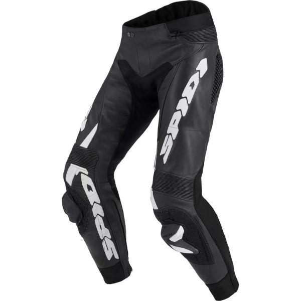 Pantaloni Moto Piele Spidi Pantaloni Piele Rr Pro Warrior Black/White 2020