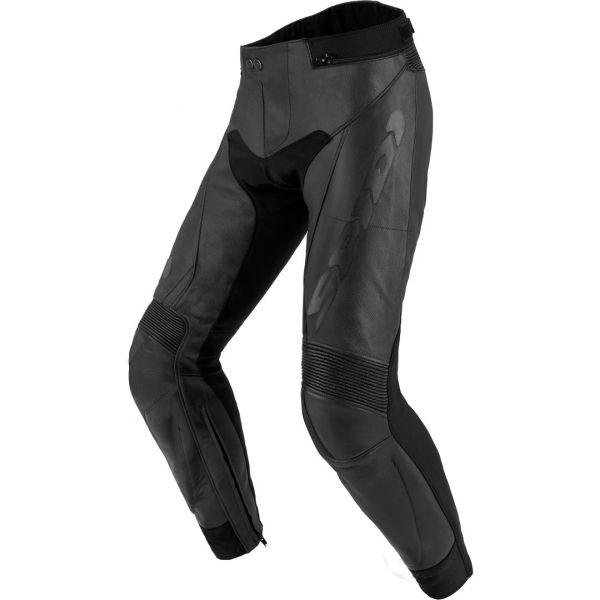 Pantaloni Moto Piele Spidi Pantaloni Piele Rr Touring 2 Black 2020