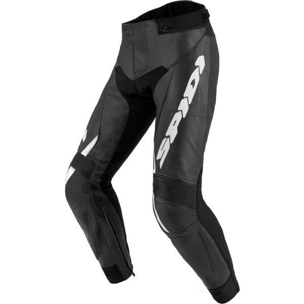 Pantaloni Moto Piele Spidi Pantaloni Piele Rr Touring 2 Black/White 2020