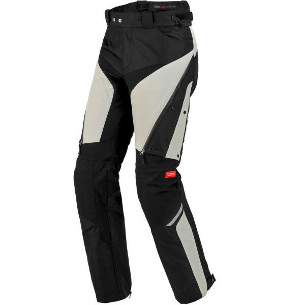 Pantaloni Moto Textil - Dama Spidi Pantaloni Textili Dama H2Out 4Season Black/Grey 2020