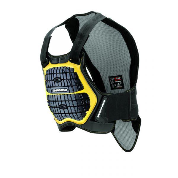 Protectii Moto Piept/Spate Spidi Protectie Moto Piept si Spate Defender Black/Yellow H160-170 2021