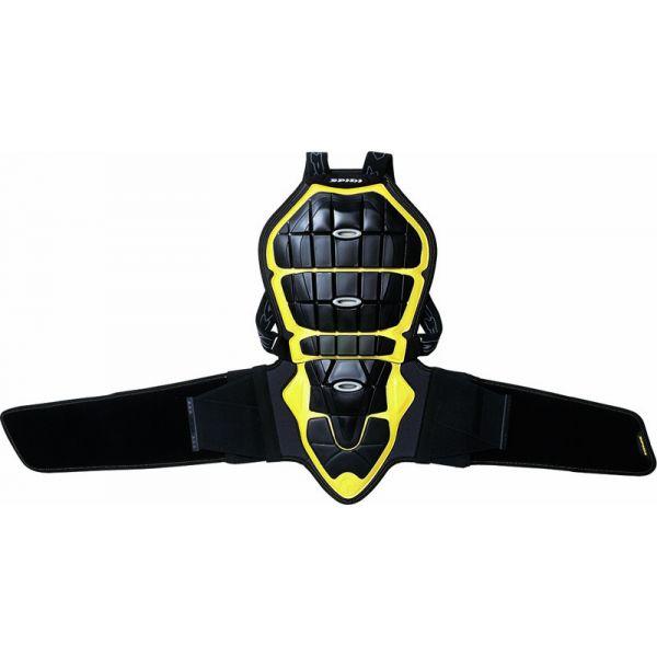 Protectii Moto Piept/Spate Spidi Protectie Moto Spate Warrior Black/Yellow H160-170 2021