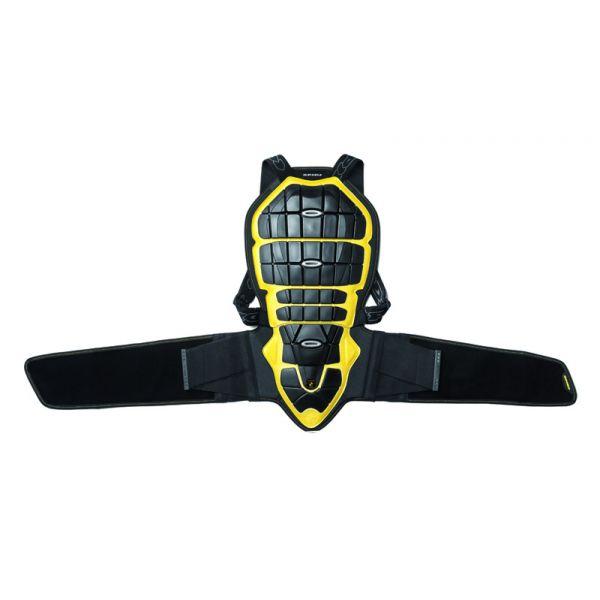 Protectii Moto Piept/Spate Spidi Protectie Moto Spate Warrior Black/Yellow H170-180 2021