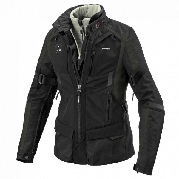 Geci Moto Textil - Dama Spidi Geaca Moto Textili Dama 4 Season Evo H2OUT Dark Green/Black 2021 1