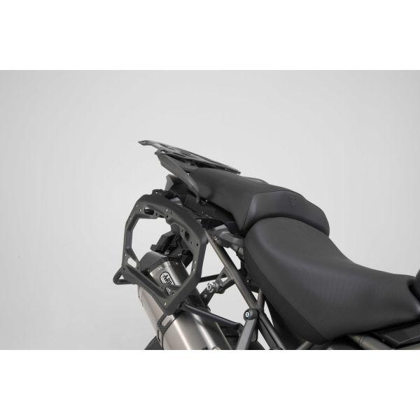 Genti Moto Strada SW-Motech Cadru Lateral Pro Black. Triumph Tiger 1200 Models 11- Kft1148330000B