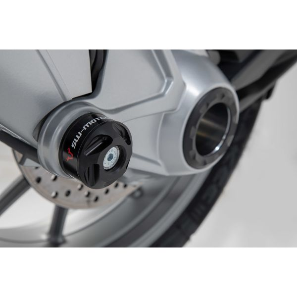 Slider Set SW-Motech Slidere Ax Roata Spate BMW R 1250 GS 1G13 (K50) 18-20- Negru