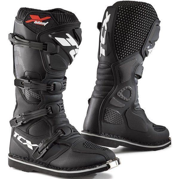 Cizme MX-Enduro Tcx Cizme Moto MX X-BLAST Black 2021
