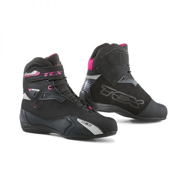 Cizme Moto - Dama Tcx Cizme Rush WP Black/Pink 2019 Dama