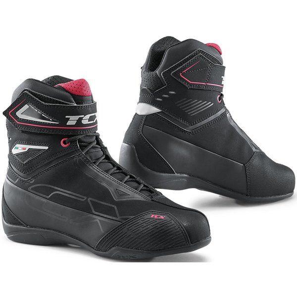 Cizme Moto - Dama Tcx Ghete Moto Sport/Touring RUSH 2 LADY WP Black/Pink 2021
