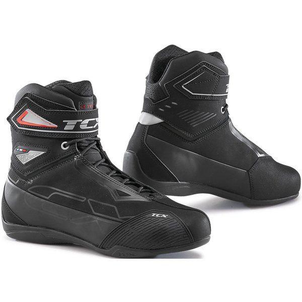 Cizme Moto Scurte/Urban Tcx Ghete Moto Sport/Touring RUSH 2 WP Black 2021