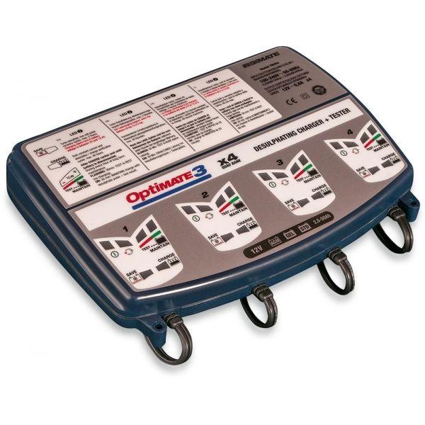 Incarcatoare/Redresoare Baterii Tecmate Incarcator/Redresor Acumulator 3-4 Pozitii Optimate 3 12v Tm-454