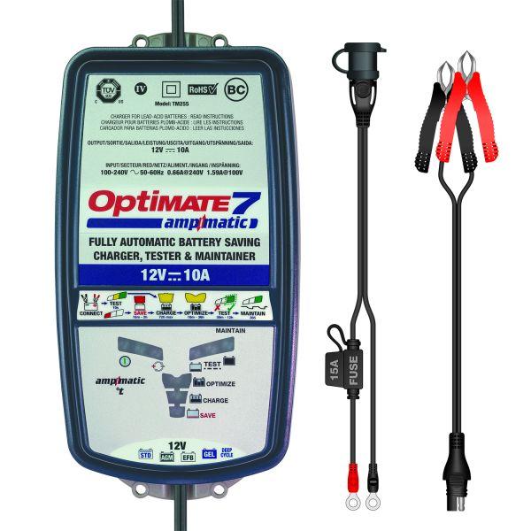 Incarcatoare/Redresoare Baterii Tecmate Incarcator/Redresor Acumulator Optimate 7 Ampmatic Tm-254 V2