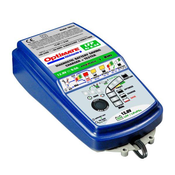 Incarcatoare/Redresoare Baterii Tecmate Incarcator/Redresor Acumulator Optimate Lithium 4s 9a/5s 7a Tm-270v2