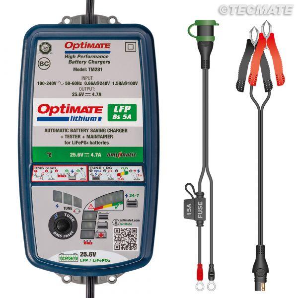 Incarcatoare/Redresoare Baterii Tecmate Incarcator/Redresor Acumulator Optimate Lithium 8s 5a Tm-280