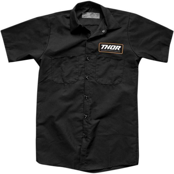 Tricouri Casual Thor Camasa Standard Work Black S9