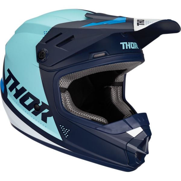 Casti MX-Enduro Copii Thor Casca Copii Sector Blade S20 Navy/Blue