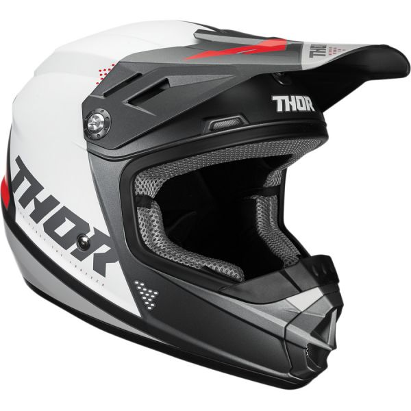 Casti MX-Enduro Copii Thor Casca Copii Sector Blade S20 White/Black/Red